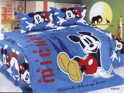 Cotton Printed Mickey Mouse Bedding Sets