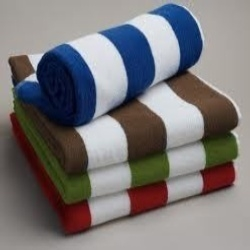 100%cotton hotel towel strip pool towel beach towell