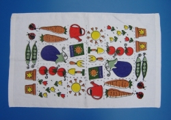 Disposable printed cheap kitchen towel
