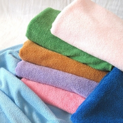 Solid Colors Microfiber Towels/Cleaning Cloth