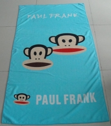 Personalized Printed Microfiber Beach Towels
