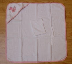 100% Cotton Embroidery Baby Hooded Towels