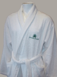100% Cotton terry Bathrobe with embroidery